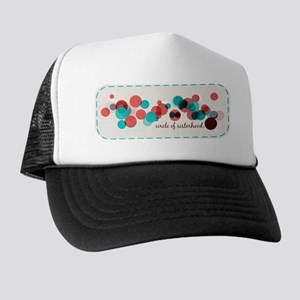Circle Of Sisterhood Logo Stitch Trucker Hat