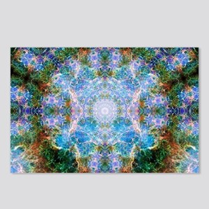 Crab Nebula Mandala Postcards (Package of 8)