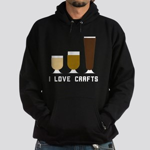 I Love Crafts Sweatshirt