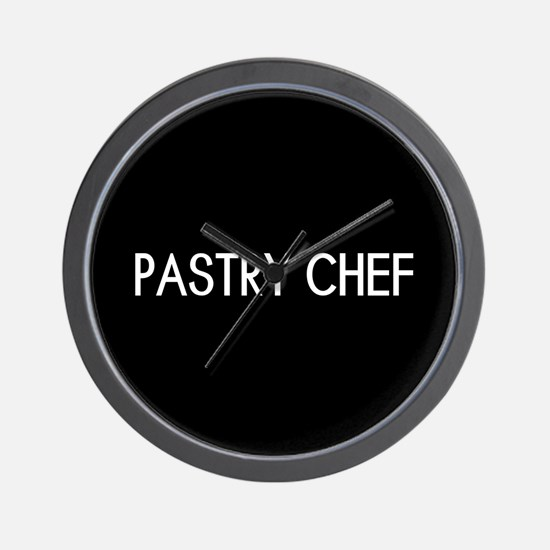 Culinary: Pastry Chef Wall Clock