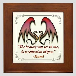Beauty Framed Tile