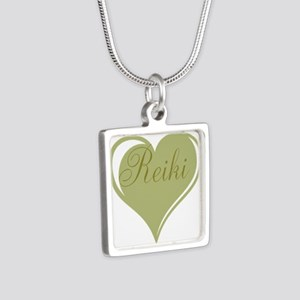 Reiki Green Heart Necklaces