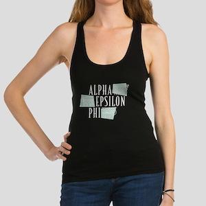 Alpha Epsilon Phi Logo Racerback Tank Top