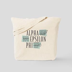 Alpha Epsilon Phi Logo Tote Bag
