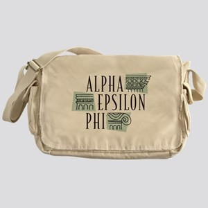 Alpha Epsilon Phi Logo Messenger Bag