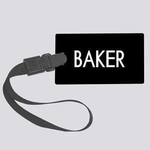 Culinary: Baker Large Luggage Tag