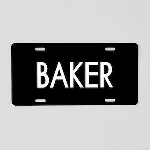 Culinary: Baker Aluminum License Plate