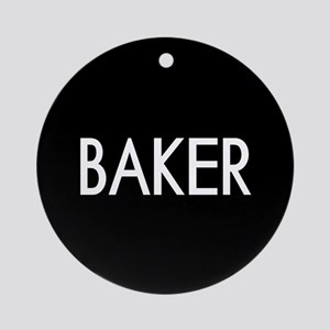 Culinary: Baker Round Ornament