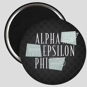 Alpha Epsilon Phi Logo Pattern Magnet