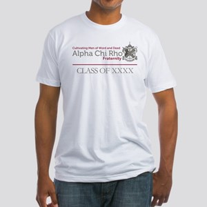 Alpha Chi Rho Class of Personlized Fitted T-Shirt