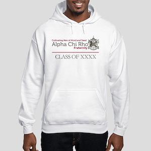Alpha Chi Rho Class of Personliz Hooded Sweatshirt