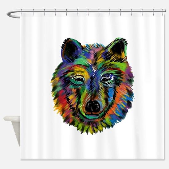 STARE Shower Curtain