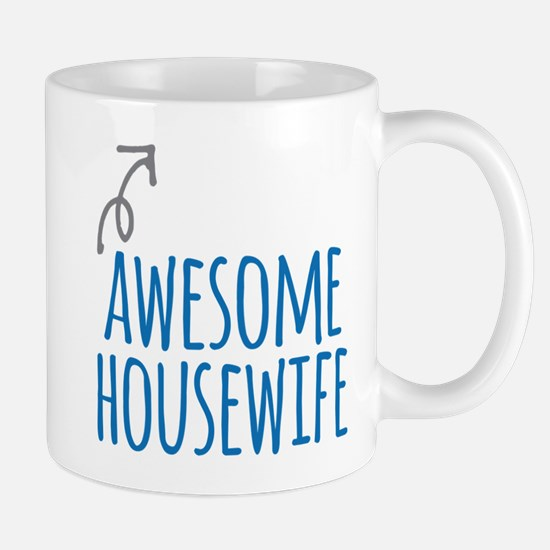 Awesome housewife Mugs