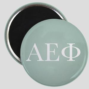 Alpha Epsilon Phi Letters White Magnet