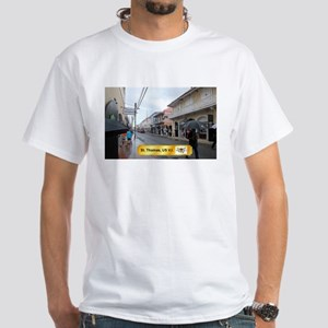 St Thomas White T-Shirt