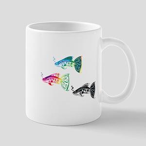 Fancy Guppies Mugs