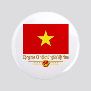 Flag of Vietnam Button