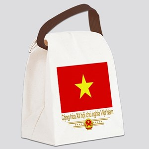 Flag of Vietnam Canvas Lunch Bag