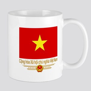 Flag of Vietnam Mugs