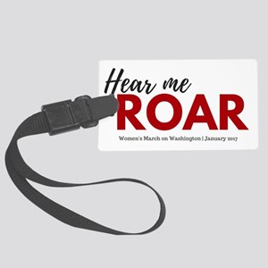 Hear me roar Women's March on Washington Lugga