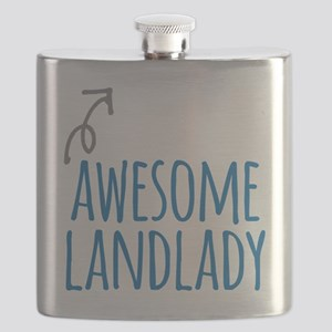 Awesome landlady Flask