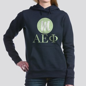 Alpha Epsilon Phi Monogr Women's Hooded Sweatshirt