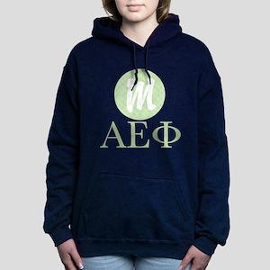 Alpha Epsilon Phi Monogr Women's Hooded Sweatshirt