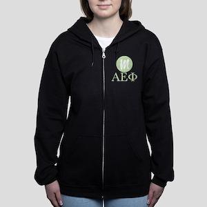 Alpha Epsilon Phi Monogram Women's Zip Hoodie