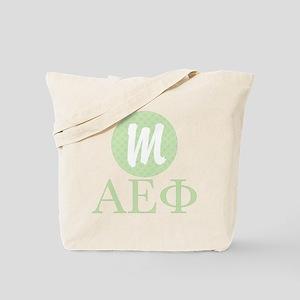 Alpha Epsilon Phi Monogram Tote Bag