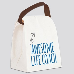Awesome life coach Canvas Lunch Bag