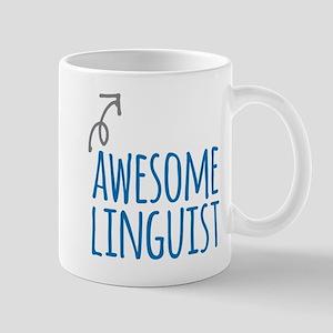 Awesome linguist Mugs