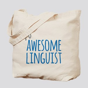 Awesome linguist Tote Bag