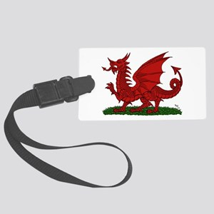 Red Dragon of Wales Luggage Tag