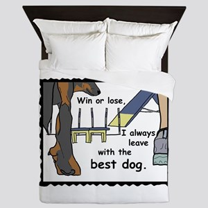 The Best Beauceron Queen Duvet