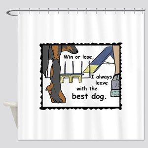The best Beauceron Shower Curtain