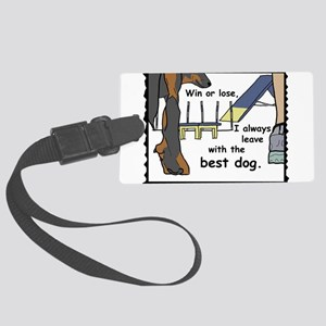 The best Beauceron Luggage Tag