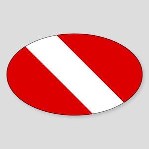 Diving: Diving Flag Sticker
