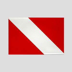 Diving: Diving Flag Magnets