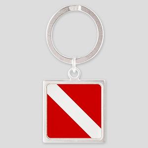 Diving: Diving Flag Keychains