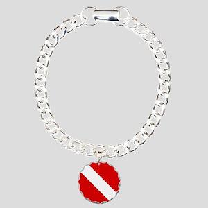 Diving: Diving Flag Bracelet