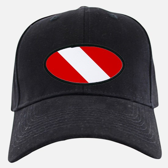 Diving: Diving Flag Baseball Hat