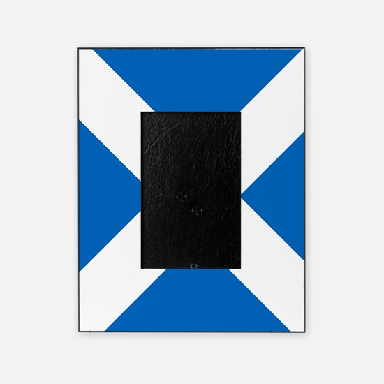 Scotland: Scottish Flag (Saltire) Picture Frame