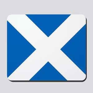 Scotland: Scottish Flag (Saltire) Mousepad