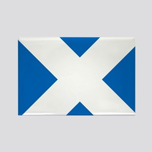 Scotland: Scottish Flag (Saltire) Rectangle Magnet
