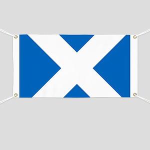 Scotland: Scottish Flag (Saltire) Banner