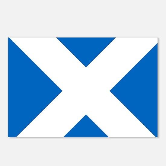 Scotland: Scottish Flag ( Postcards (Package of 8)