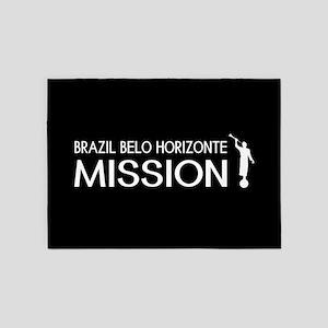 Brazil, Belo Horizonte Mission (Mor 5'x7'Area Rug