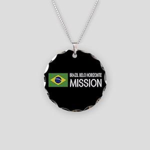 Brazil, Belo Horizonte Missi Necklace Circle Charm