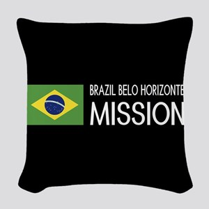 Brazil, Belo Horizonte Mission Woven Throw Pillow