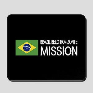 Brazil, Belo Horizonte Mission (Flag) Mousepad